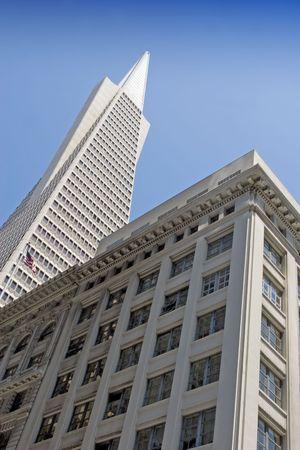 transamerica: Transamerica Pyramid in downtown San Francisco Editorial
