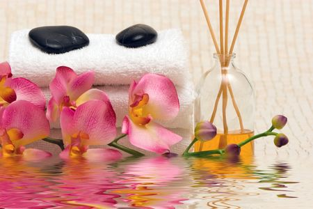 revitalize: Various spa and massage items