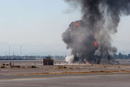 airforce: Airforce bombing exercising during airshow in Nevada
