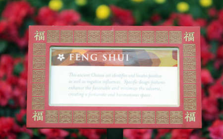 Explanation of feng shui photo