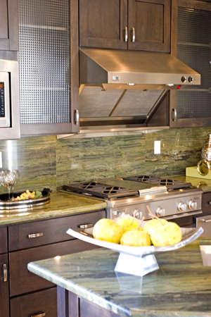 Modern kitchen with granite countertops Stock Photo - 2201359