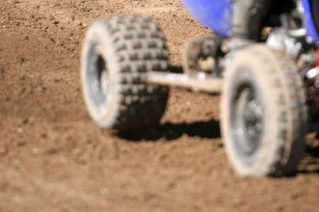 ATV wheels close up Stock Photo - 2220121