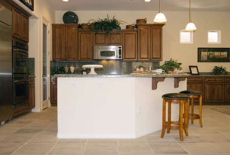 Modern kitchen with granite countertops Stock Photo - 2283726