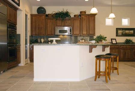 Modern kitchen with granite countertops Stock Photo - 2283726