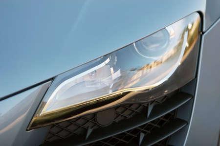 Headlight of a sports car