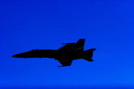 f18: F-18 fighter jet airplane silhouette