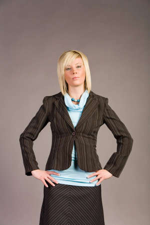 Young businesswoman in suit Stock Photo - 2336772