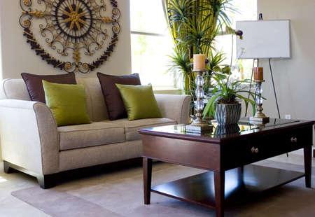 sala de estar: Decoradas con buen gusto moderno sal�n