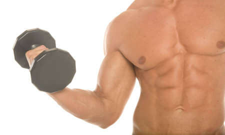 Champion body builder working out Stock Photo - 2347471