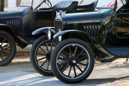 Antique American cars Stock Photo - 2370292