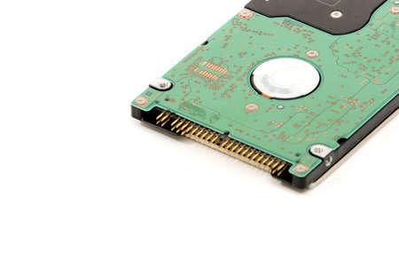 Harddisk drive isolated on white background Stock Photo - 2950343