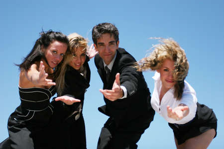 Young successful business people for teamwork Stock Photo - 2951331