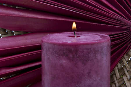 Spa or meditation candle