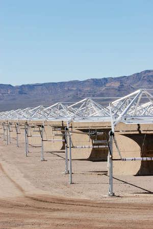 pollution free: Solar panel construction for alternative energy