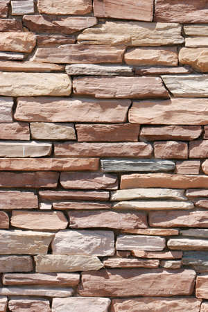 Stone wall background Imagens