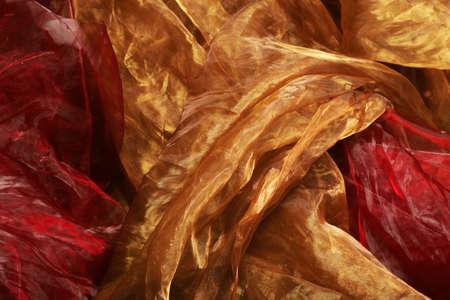 material: Silk material