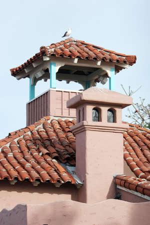 Southwest style home chimney detail photo