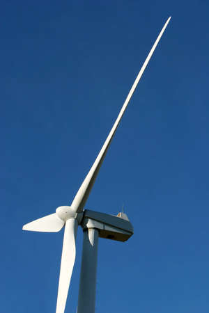 Wind turbine for alternative energy photo