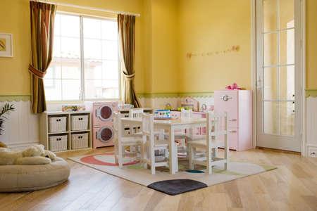 playroom: De juegos para ni�os decorado de las ni�as
