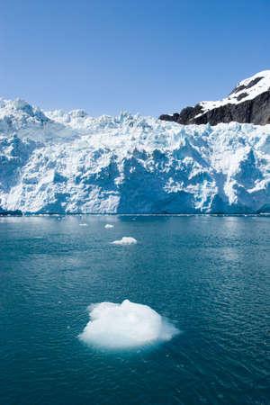 Traveling to Hubbard Glacier in Alaska photo