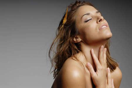 Beautiful young hispanic woman Stock Photo - 3364945