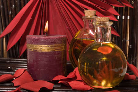 rejuvenating: Essential body  oils and candles