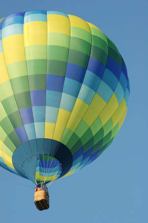 enthusiast: Colorful hot air balloon Stock Photo