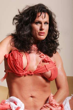 Sexy mature woman Stock Photo
