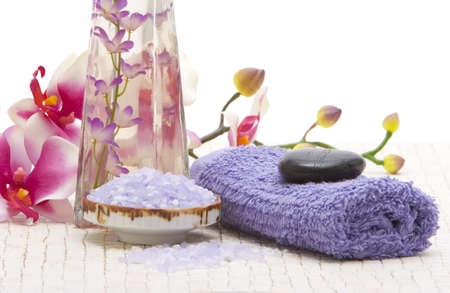 Various spa and bath objects photo