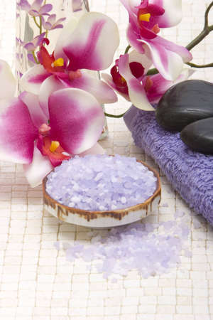 rejuvenating: Various spa and bath objects