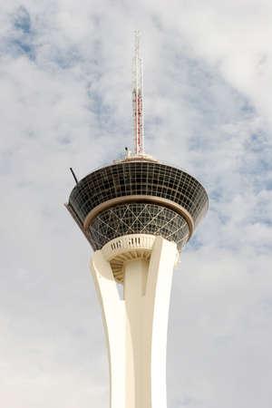 stratosphere: Stratosphere tower in Las Vegas Stock Photo