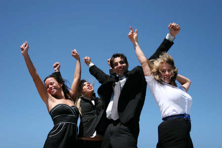 Young successful business people for teamwork Stock Photo - 3450907