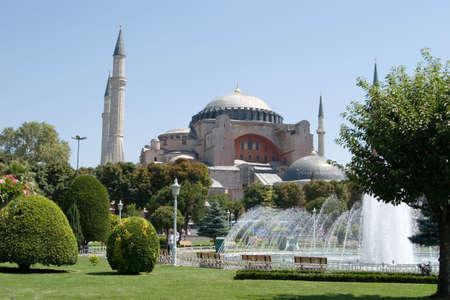 hagia: Hagia Sophia museum in Istanbul Turkey