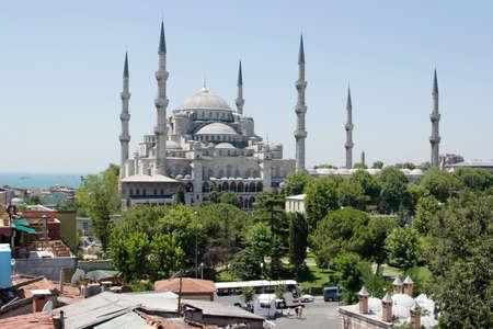 터키 이스탄불에서 블루 모스크의보기