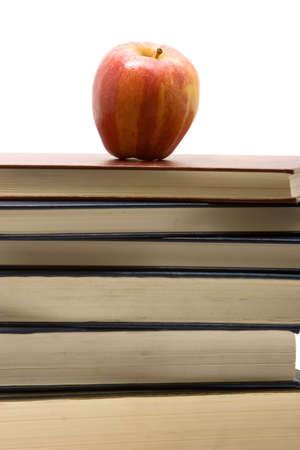책 스택에 애플