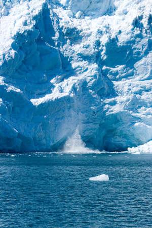 Hubbard glacier in Alaska USA Stock Photo - 3565552