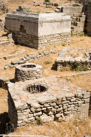 troy: Ancient city of Troy in Turkey