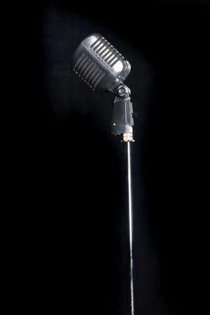 Ouderwetse microfoon
