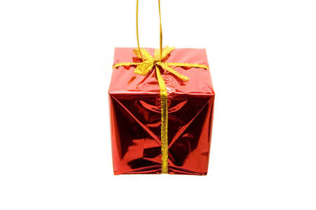 Beatiful gift box for Christmas photo