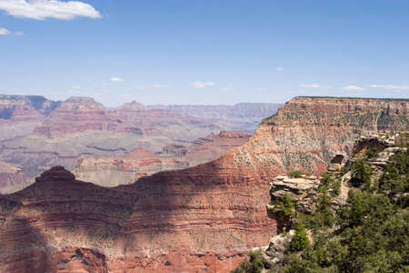 Scenery from Grand Canyon in Arizona photo
