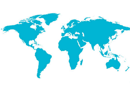 illustrated background of the world map Stock Photo - 3648550
