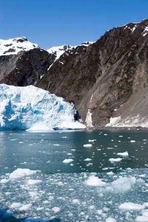 Hubbard glacier in Alaska USA photo