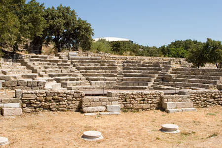 troy: Ancient city of Troy