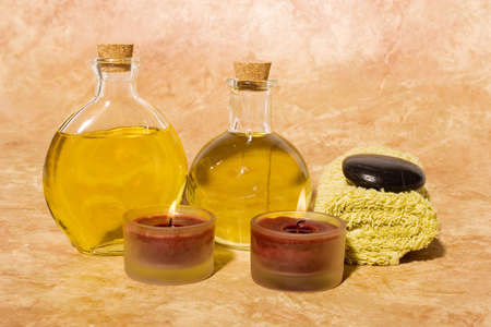 insent: Essential body massage oils in bottles