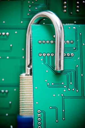 Computer security photo