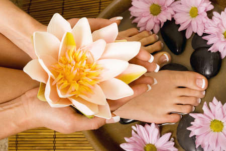 handcare: Footcare and handcare at the spa