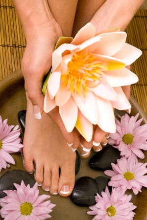 salon: Footcare and handcare at the spa