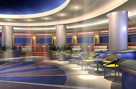 3D render of a bar Stock Photo - 4882757