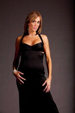 Pretty woman in fashionable dress Stock Photo - 5214739