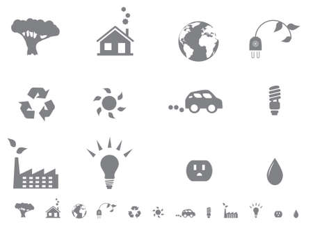 Signos y símbolos ecológicos Foto de archivo - 5300250